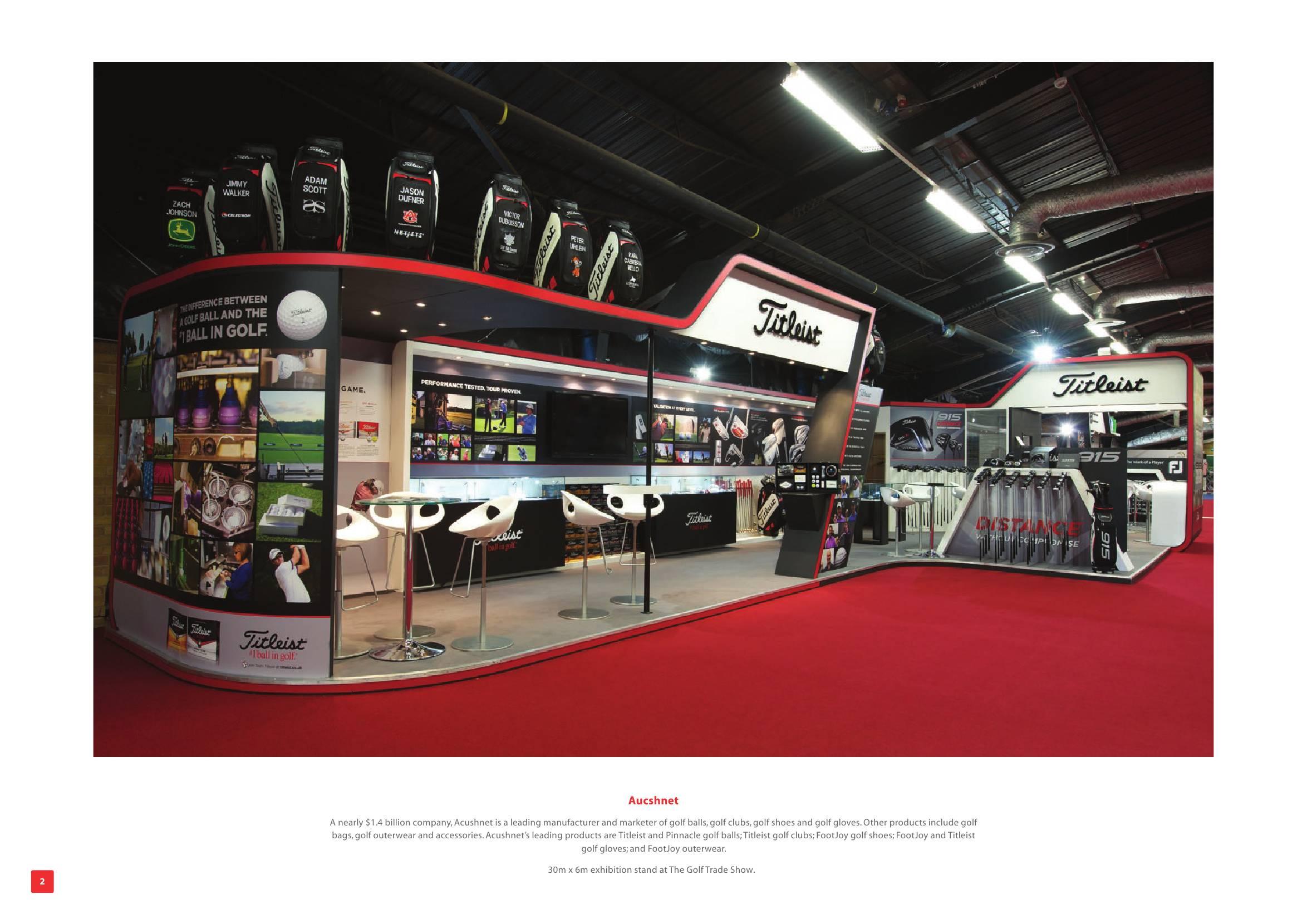 Exhibition Stand Shoes : Exhibition stand portfolio
