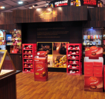 Lindt exhibition stand thumbnail