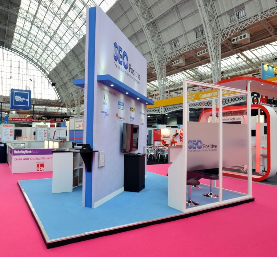 Marketing Exhibition Stand Goals : Marketing week live exhibition stand design and build
