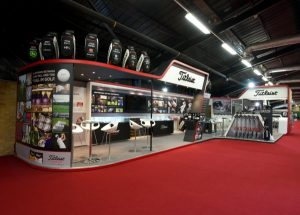 Titleist exhibition stand