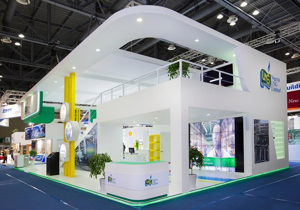 Exhibition Stand : Double decker exhibition stands design and build