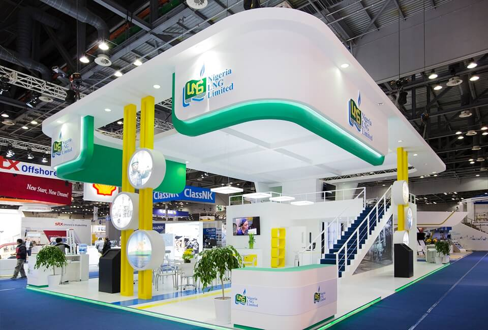 Exhibition Stand Regulations : Double decker exhibition stands design and build