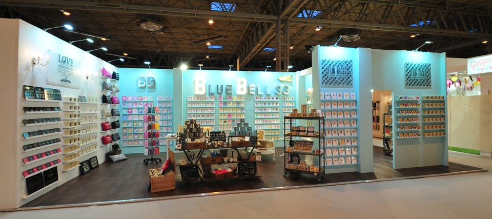 Exhibition stand for Bluebell33
