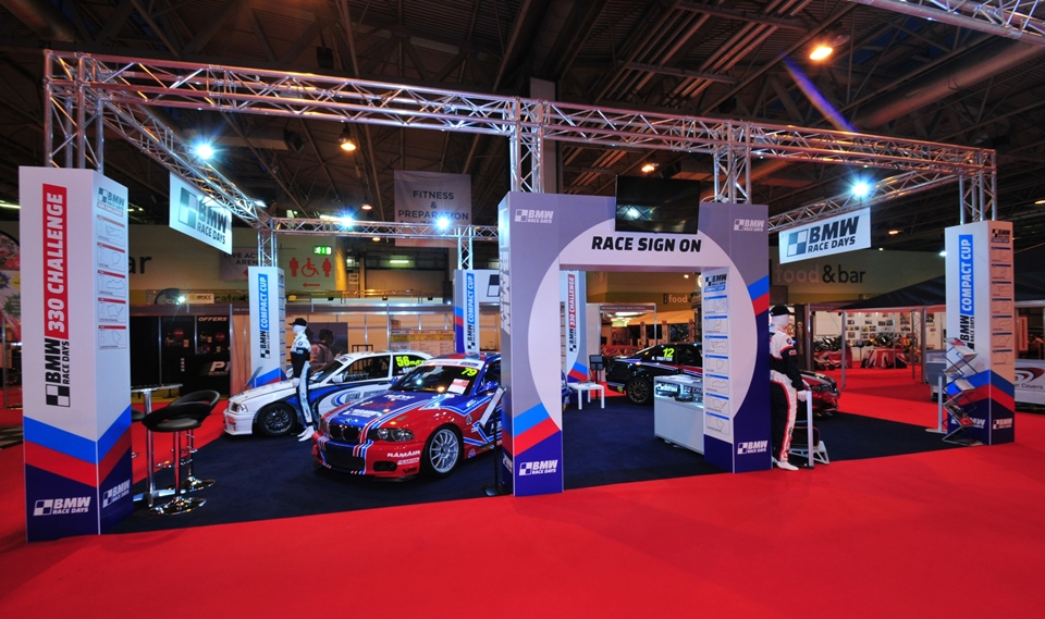 Exhibition Stand Hire London : Autosport international exhibition stand design and build