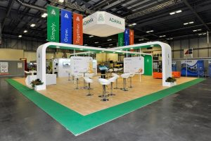 Exhibition stand for ADAMA