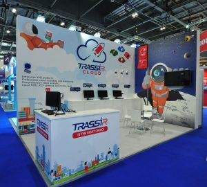 Exhibition stand for Trassir Cloud