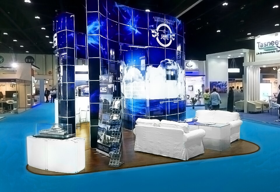Stand Hire For Exhibition : Innovative glass exhibition system stands