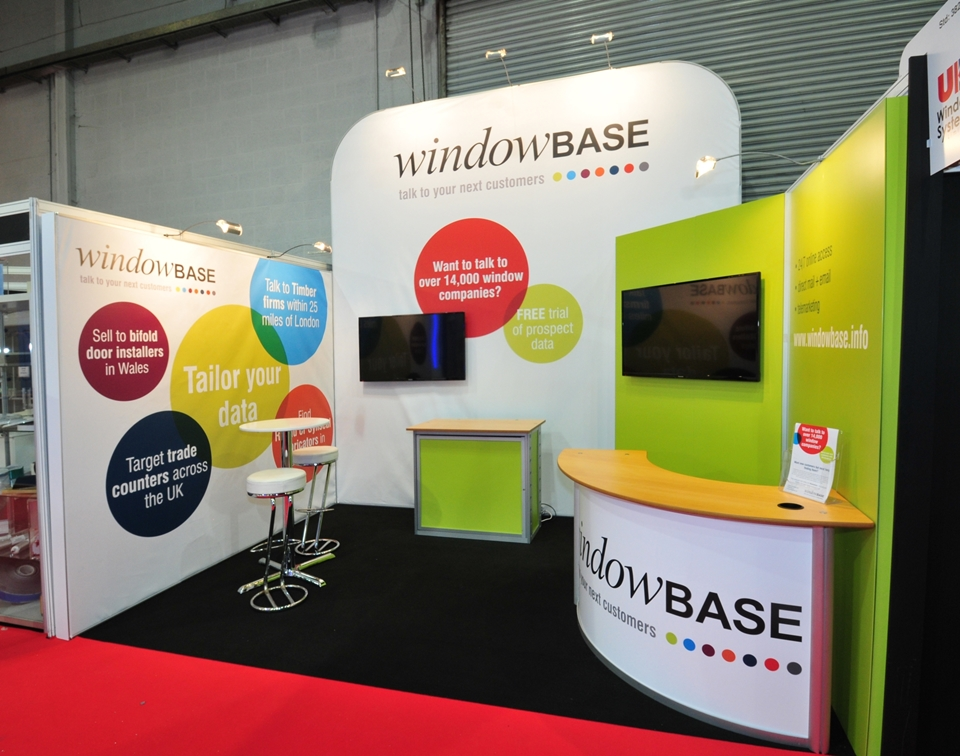 Exhibition stand for Window Base