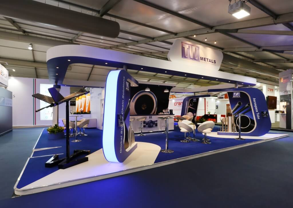 Exhibition Stand Design Brief : Farnborough international airshow exhibition stand