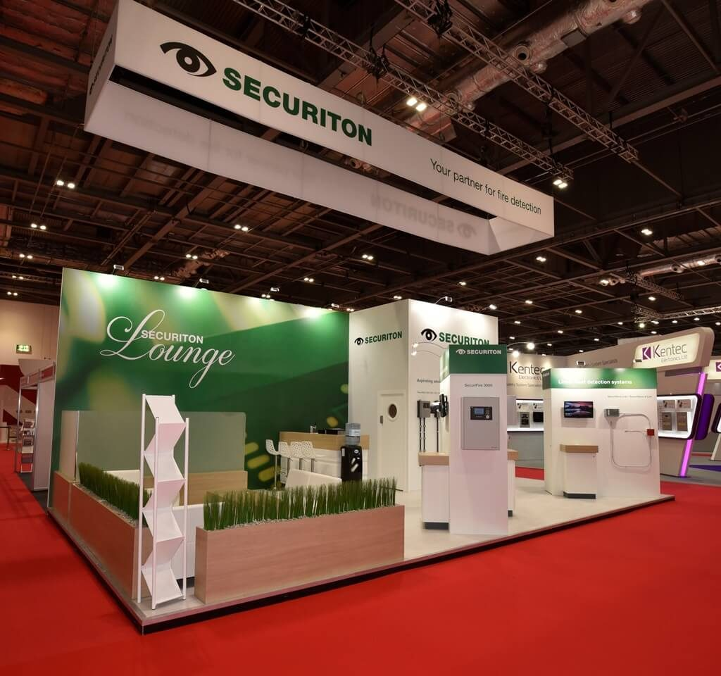 FIREX exhibition stand - Securiton