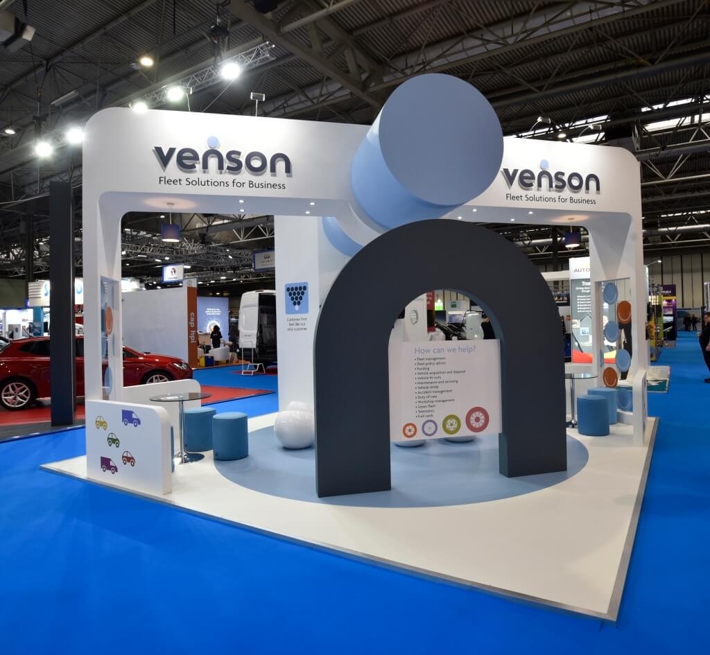 Exhibition Stand Management : Bespoke exhibition stand build and design of custom stands