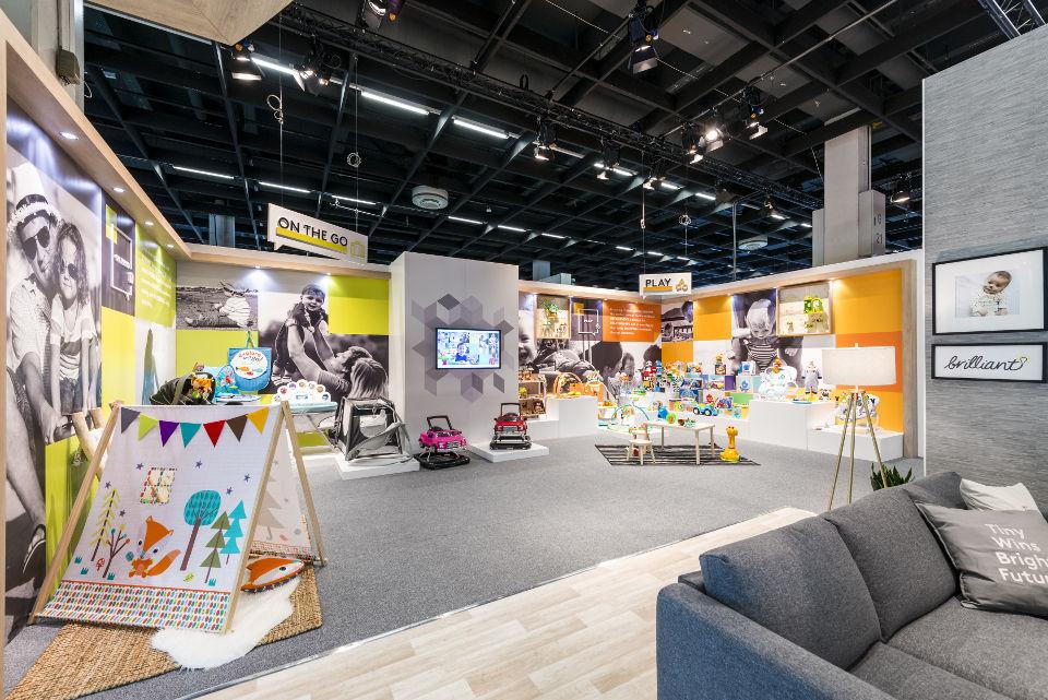 Kids II exhibition stand at Kind und Jugend - 3