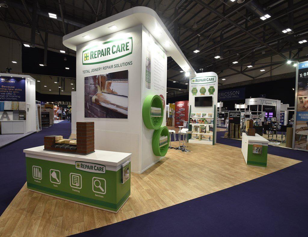 Exhibition Stand Design Decor : National painting and decorating show exhibition stand
