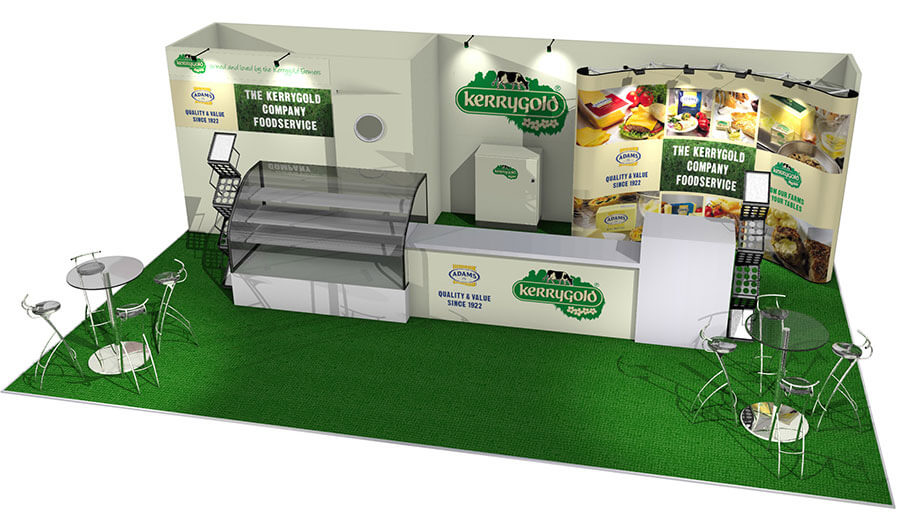 Food Exhibition Stand Design : Exhibition stand design designers of stands
