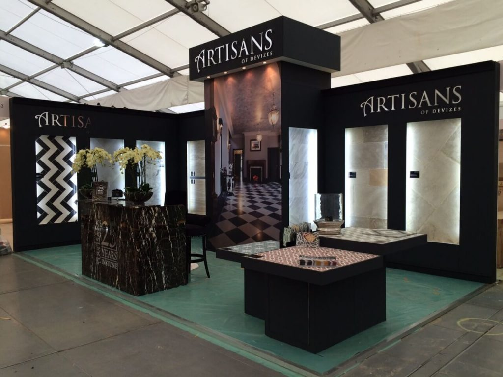 decorex international exhibition stand - artisan 2