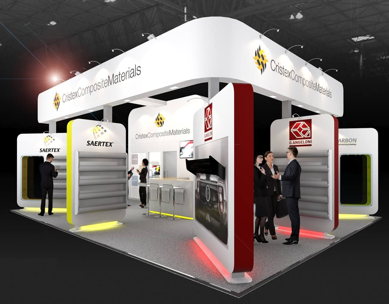 Exhibition Displays : Exhibition stand design designers of stands