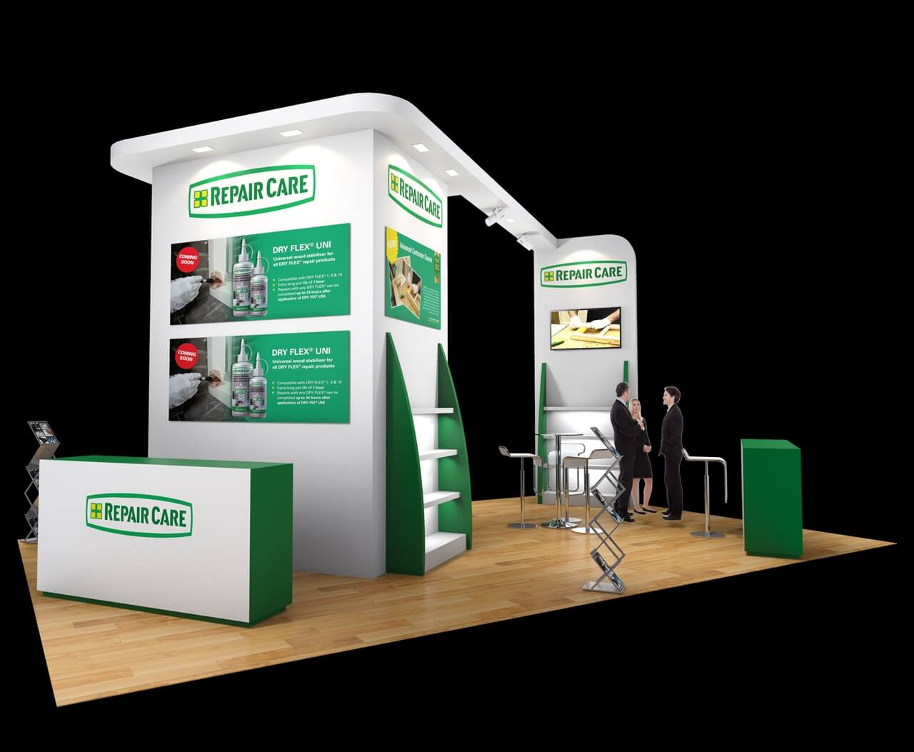 Exhibition Display Stands For Hire : Exhibition stand design designers of stands