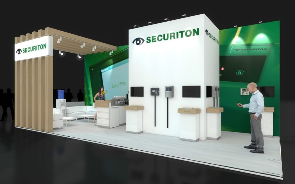 Exhibition stand design - Securiton