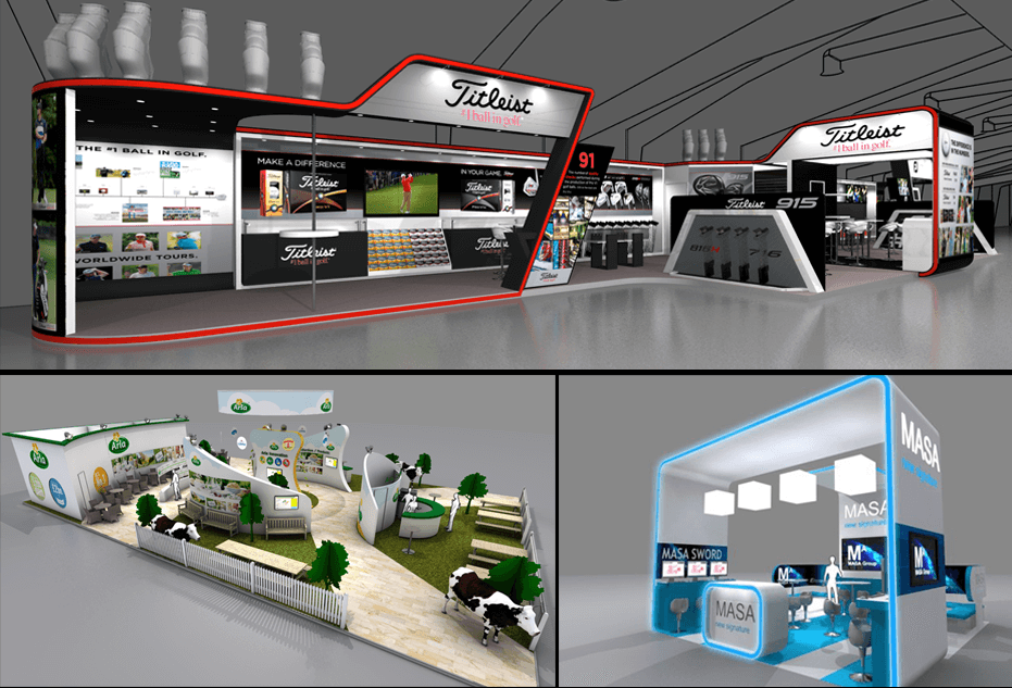 Exhibition Stand Design Lebanon : Exhibition stand design designers of stands