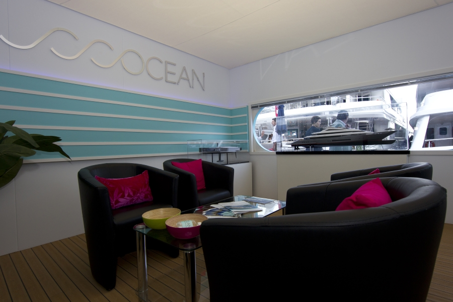 monaco yacht show exhibition stand - ocean independence 2