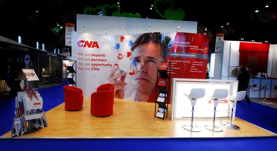biba exhibition stand - cna
