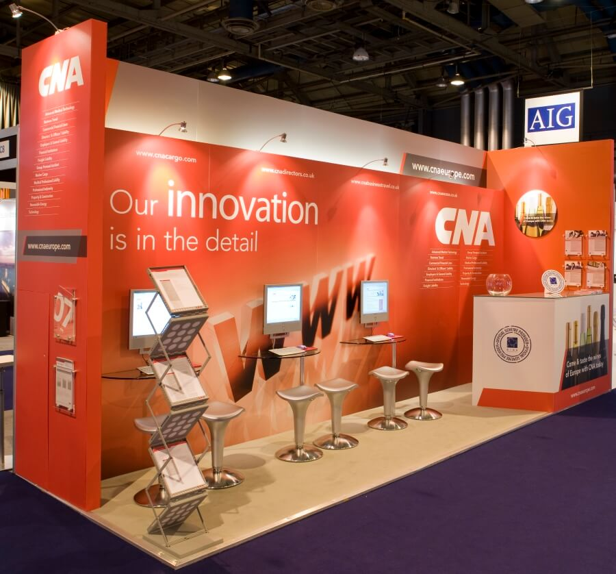 Exhibition Stand Terminology : Biba conference and exhibition stand design build