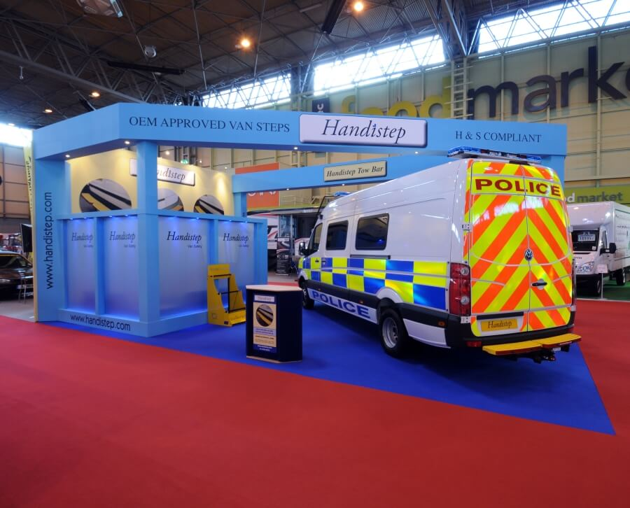cv show exhibition stand - handistep