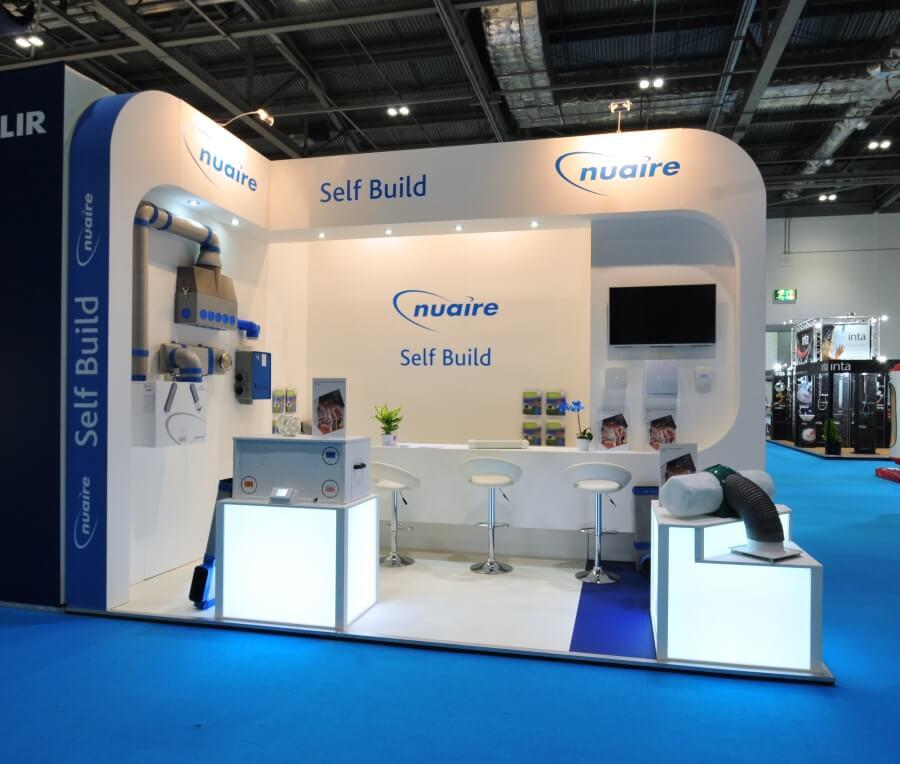 ecobuild exhibition stand - nuaire