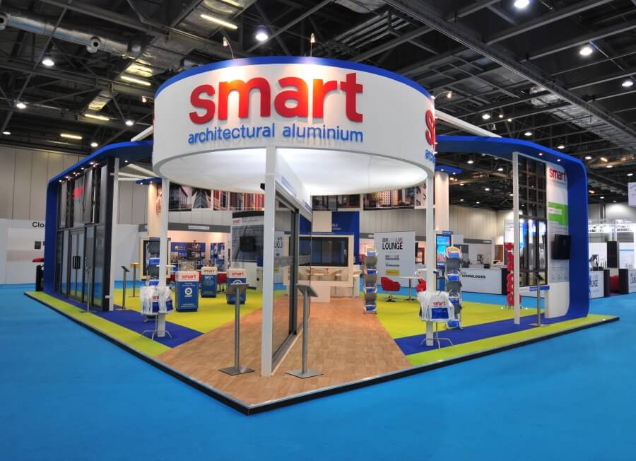 ecobuild exhibition stand smart