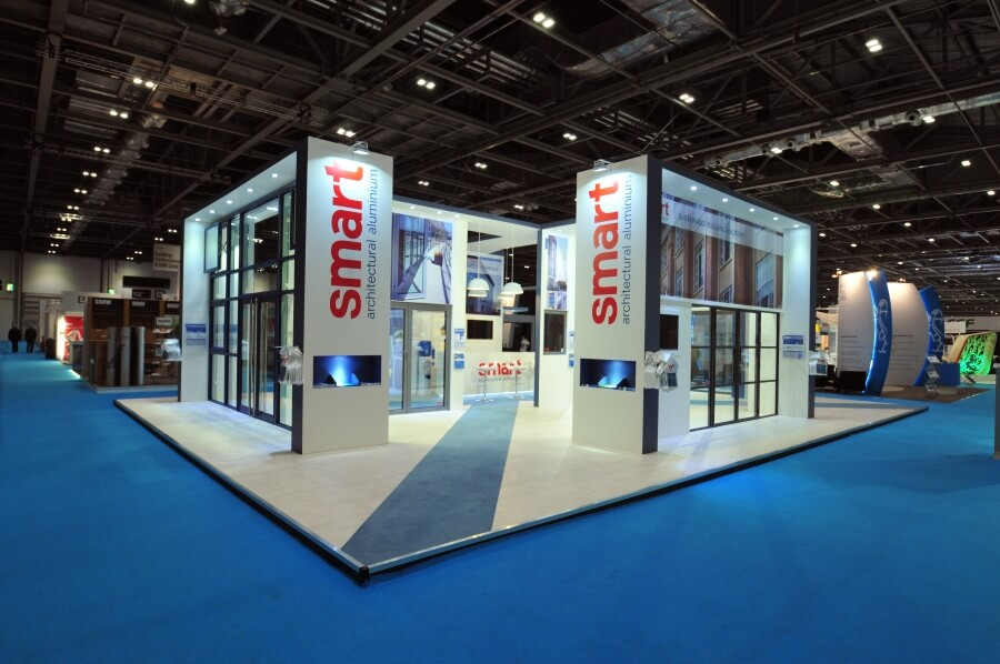 exhibition stand at ecobuild - smart