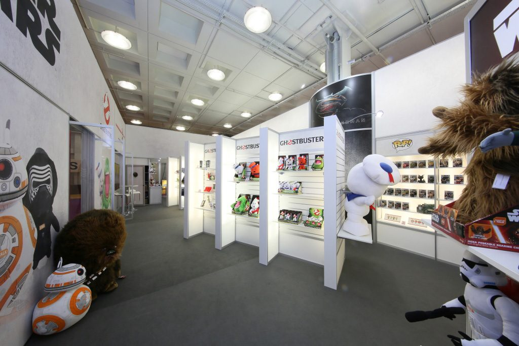 exhibition stand at the toy fair for underground toys - 1