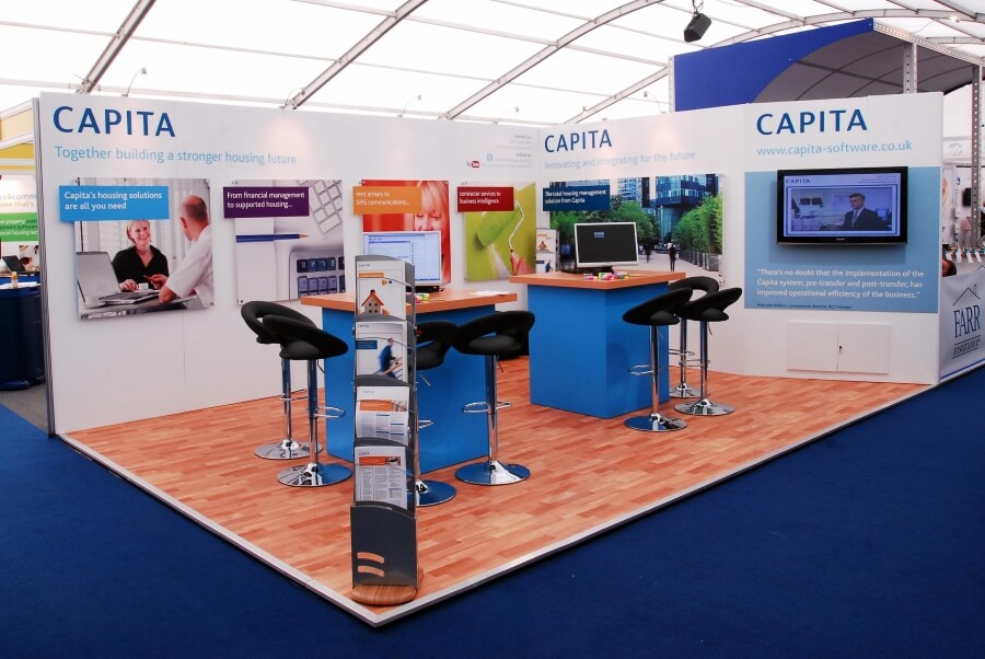 housing finance conference and exhibition-stand - capita