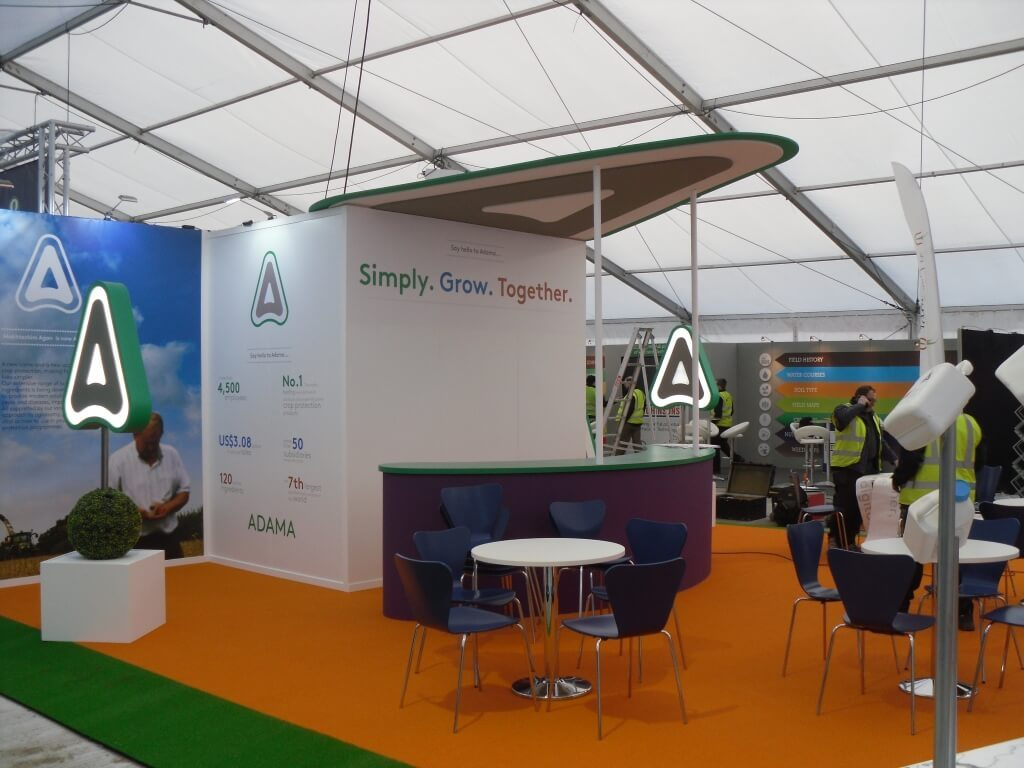 Exhibition Stand Design Peterborough : Lamma show exhibition stand design and build