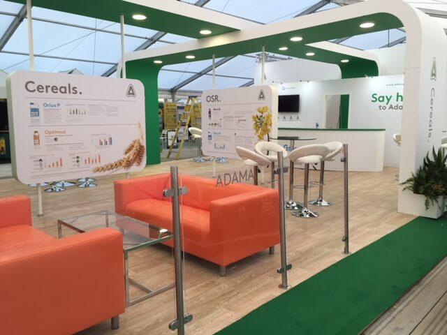 lamma show exhibition stand adama 3