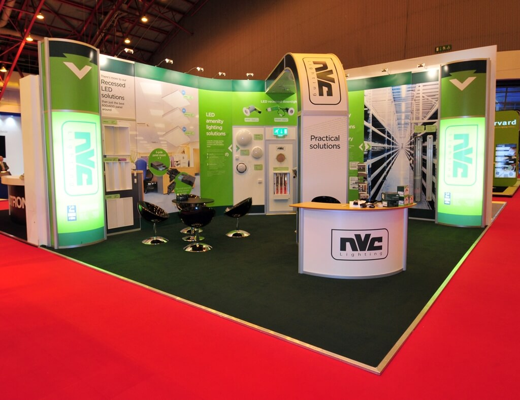 Modular Exhibition Stands Election : Linx modular exhibition stands aluminium