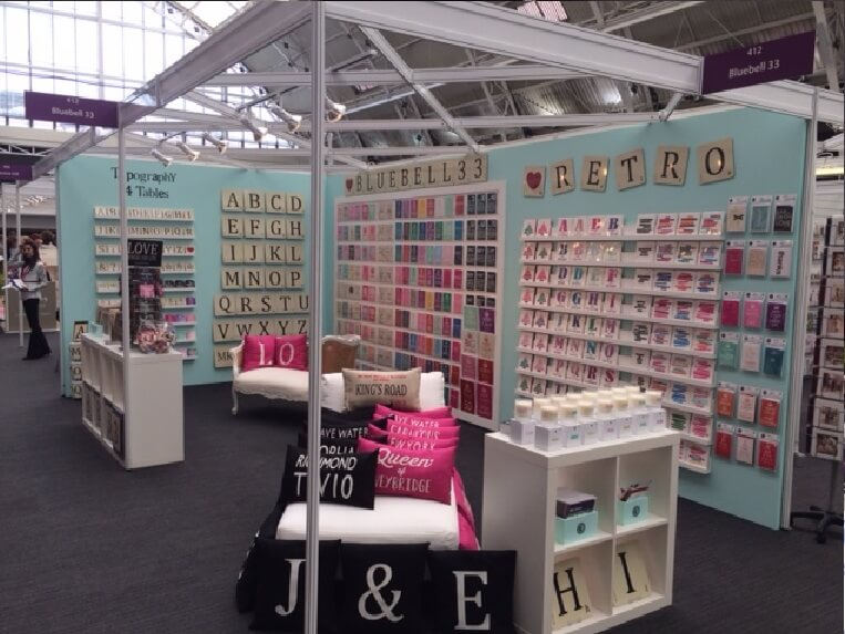 progressive greetings live exhibition stand - bluebell33 3