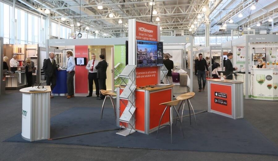 world travel market exhibition stand - libya waha expo 4