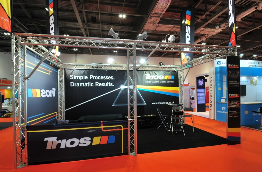 facilities show exhibition stand 2 - trios