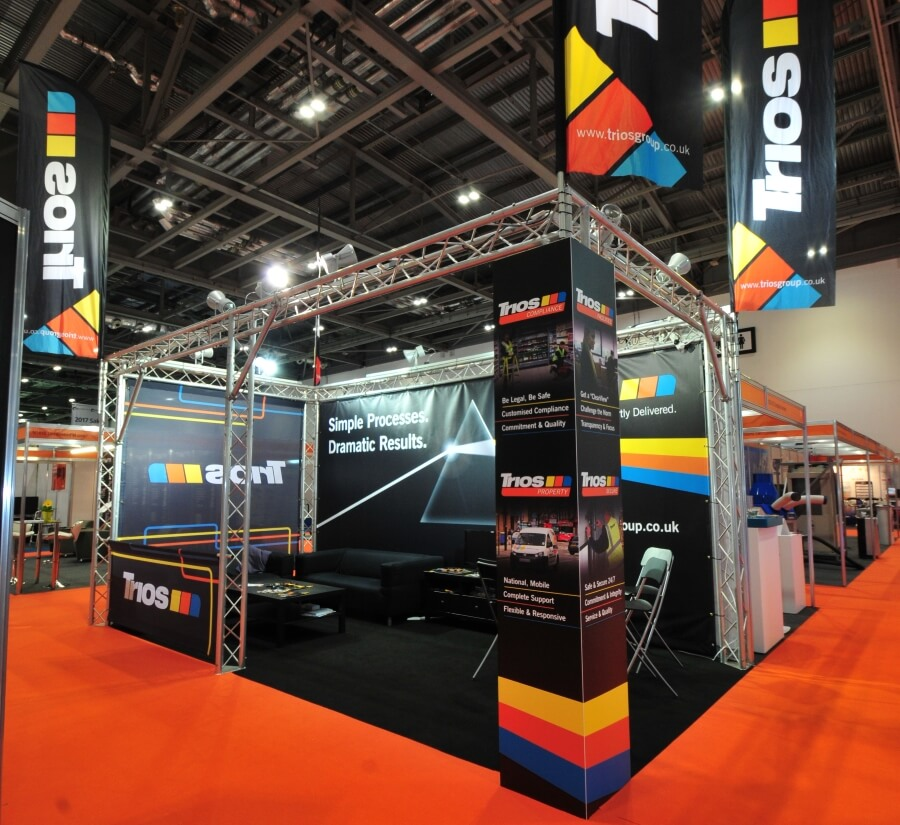 facilities show exhibition stand - trios