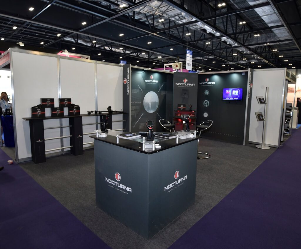 IFSEC exhibition stand - Nocturna