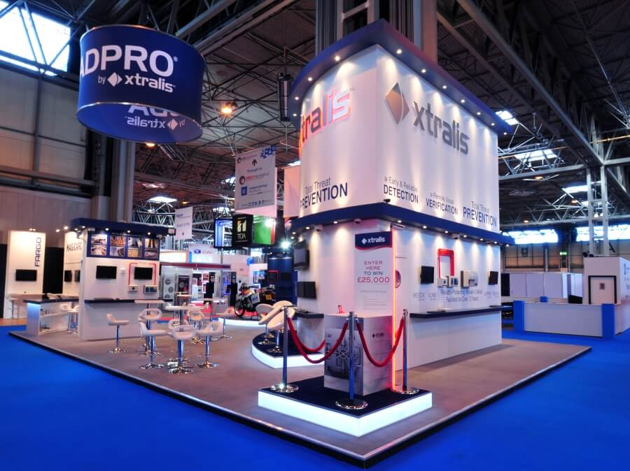 xtralis exhibition stand at ifsec