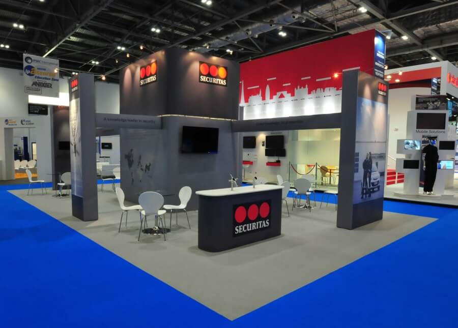 securitas exhbition stand at ifsec