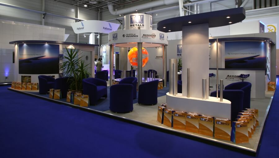 International paris air show exhibition stand design and for Expo design paris
