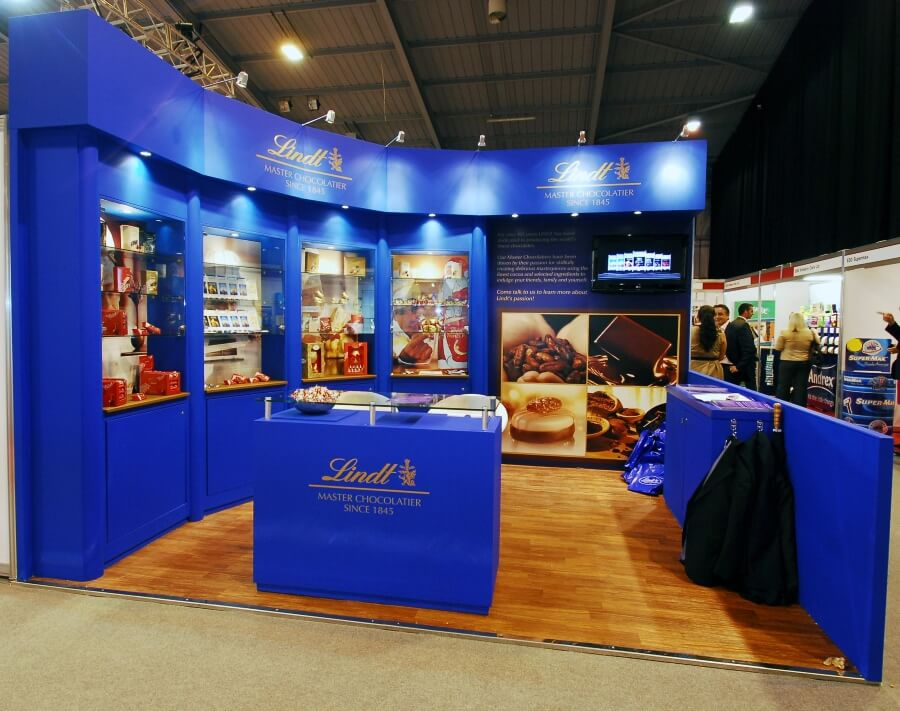 pro retail exhibition stand - lindt chocolate 3