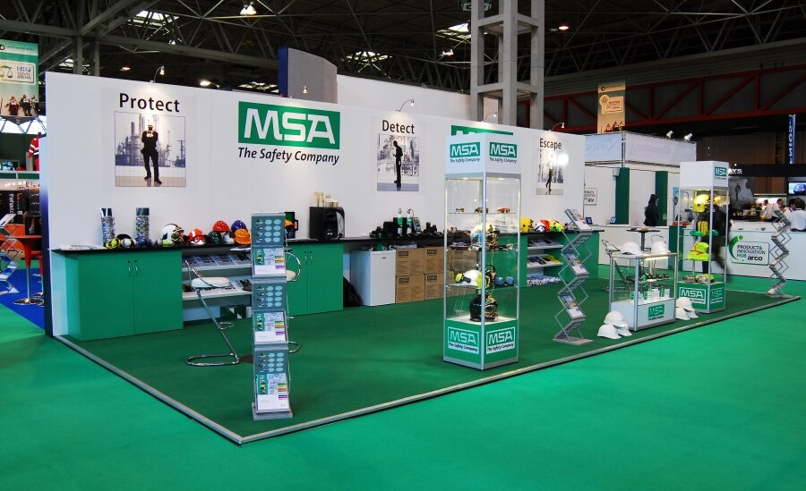 Exhibition Stand Health And Safety : Safety and health expo exhibition stand design build