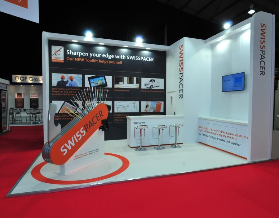 fit show exhibition stand - swisspacer
