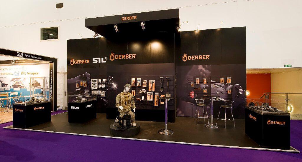 dsei exhibition stand - silva gerber