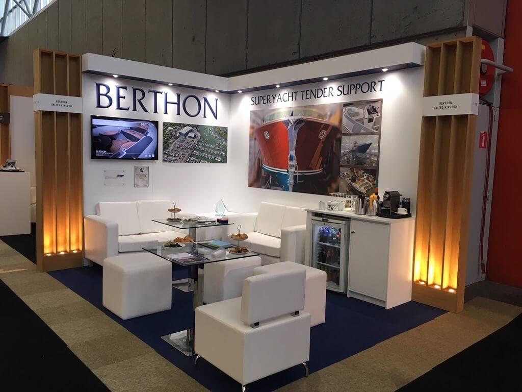 METSTRADE exhibition stand - Berthon