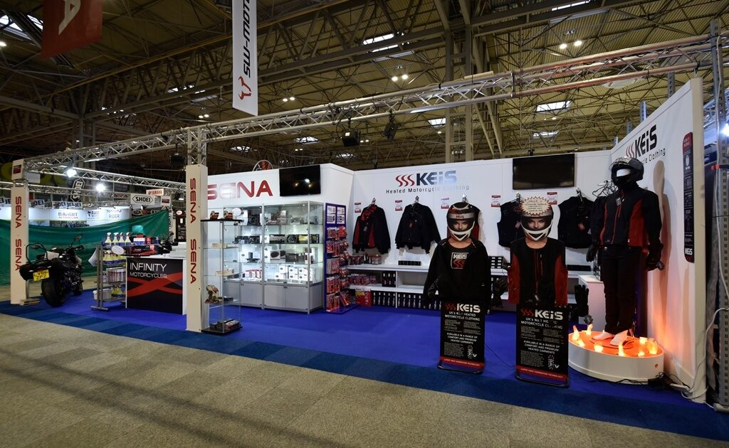 Motorcycle Live exhibition stand - Motohaus