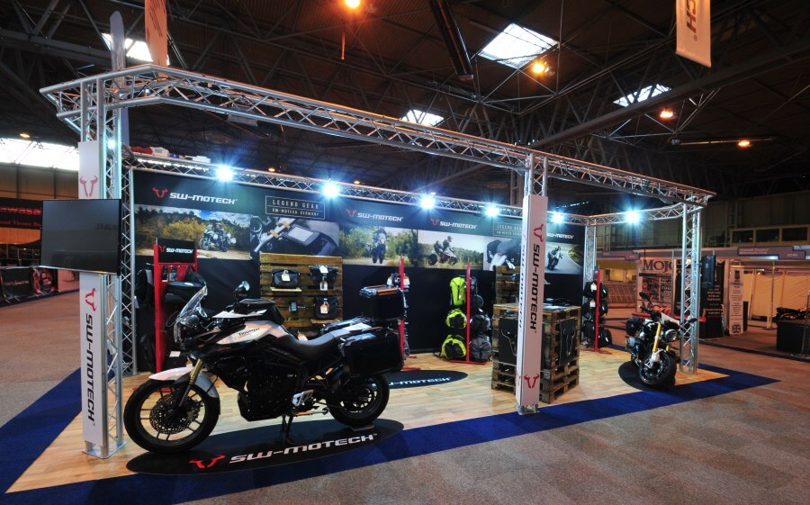 Motorcycle Live exhibition stand - SW Motech